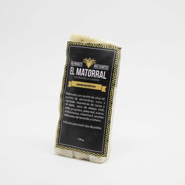 Jabón nutritivo El Matorral