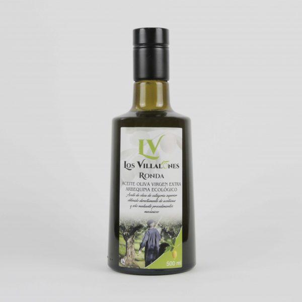 Aceite de Oliva Virgen Extra Los Villalones Ecológico